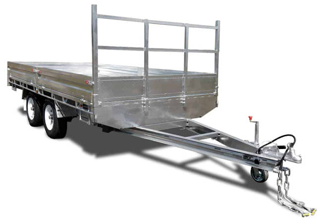 16 x 8 Flat Top Trailer from Midway Trailers, Macksville