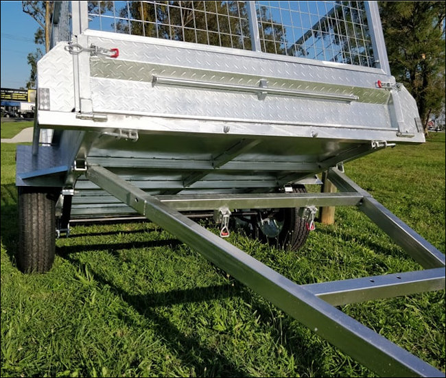 6x4 Tipper Trailer with 900mm Sides from Midway Trailer Sales, Macksville