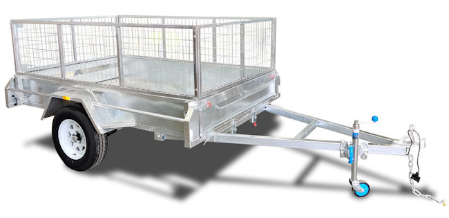 6x4 Box Trailer with 900mm Sides