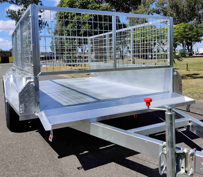 7x4 Heavy Duty Trailer with 1400 Kg ATM capacity