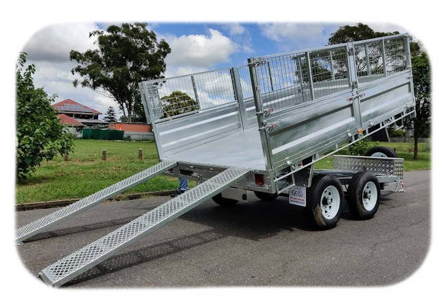 Hydraulic Tipper, Flat-top Trailer from Midway Trailers, Macksville, NSW