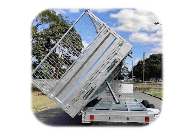 Three Way Hydraulic Tipper Trailer, Midway Trailers, Macksville, NSW