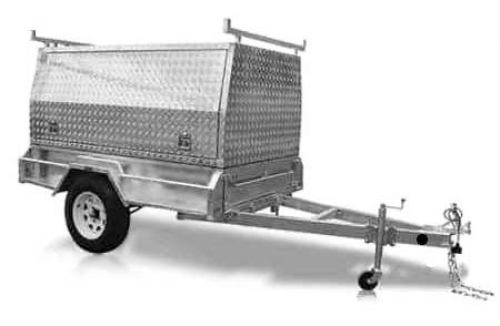 8x5 Tradesman Trailer at Midway Trailers, Macksville