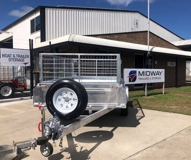 Custom 6x4 Trailer from Midway Trailers
