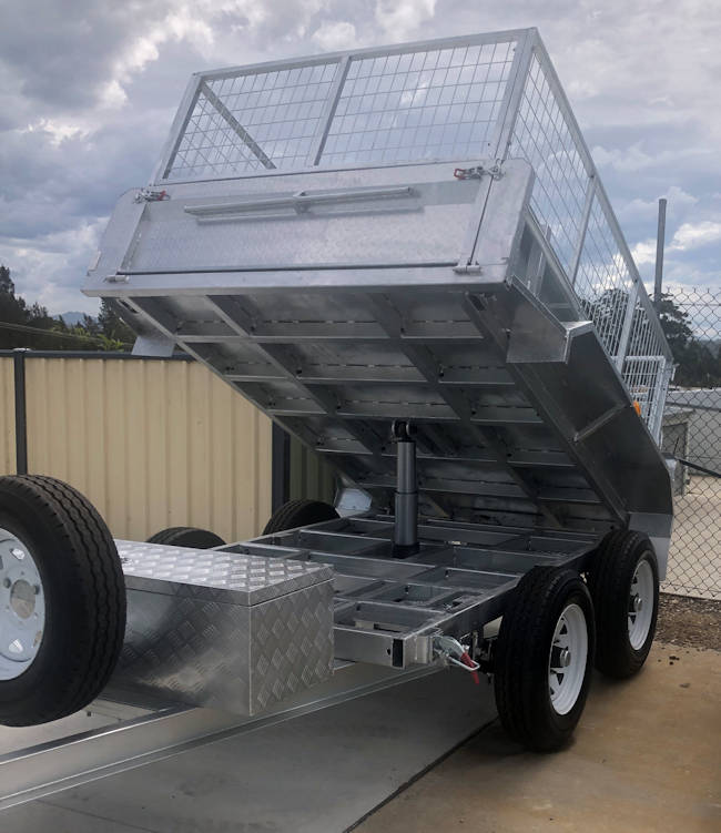 Dual Axle Tipping Trailer from Midway Trailers, Macksville, NSW