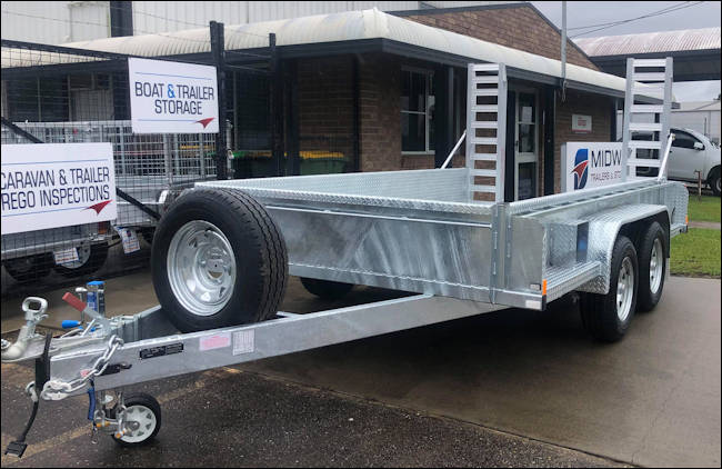 Custom Tandem Trailer from Midway Trailers in Macksville, NSW Mid North Coast